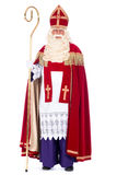 Portrait of Sinterklaas Stock Photo