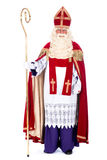 Portrait of Sinterklaas Stock Photos
