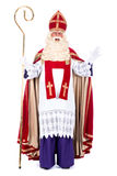 Portrait of Sinterklaas Stock Images