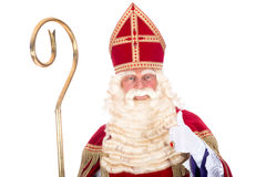 Portrait of Sinterklaas Stock Photography