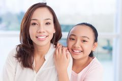 Portrait of sisters Stock Image