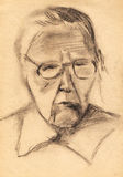 Portrait sketch Royalty Free Stock Photography
