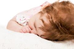 Portrait sleeping baby Royalty Free Stock Photography