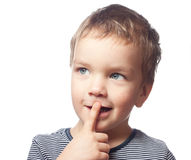 Portrait of small boy Stock Image