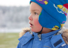 Portrait of small boy Royalty Free Stock Photos