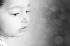 portrait of small boy child Royalty Free Stock Photo