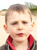 Portrait of a small boy Stock Photography