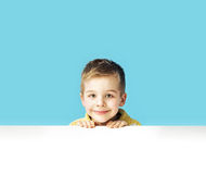 Portrait of a small cute boy Stock Image