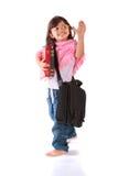 Portrait of small girl Stock Photos