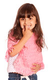 Portrait of small girl Royalty Free Stock Photography