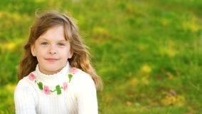 Portrait small girl Stock Images