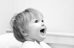 Portrait of small girl Royalty Free Stock Photos