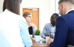 Portrait of smart business partners Royalty Free Stock Photo