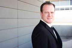 Portrait of a smart businessman Stock Images