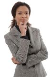 Portrait of smart businesswoman Royalty Free Stock Image