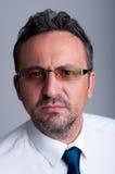 Portrait of smart and intelligent teacher Stock Photos
