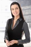 Portrait of smart office worker Stock Image