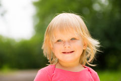 Portrait of smile adorable baby Royalty Free Stock Photo