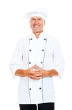 Portrait of smiley chef Royalty Free Stock Photos