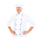 Portrait of smiley chef Stock Image