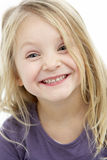 Portrait Of Smiling 4 Year Old Girl Stock Images