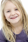 Portrait Of Smiling 4 Year Old Girl Royalty Free Stock Photo