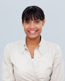Portrait of a smiling Afro-American businesswoman Royalty Free Stock Images