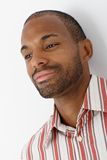 Portrait of smiling Afro-american man Stock Photo