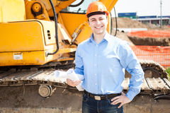 Portrait of a smiling architect Royalty Free Stock Photo
