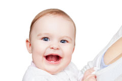 Portrait of smiling baby Royalty Free Stock Photos