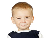 Portrait of smiling baby boy Royalty Free Stock Image