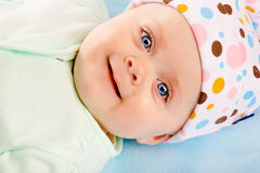 Portrait of a smiling baby Stock Photography