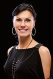 Portrait of smiling beautiful woman Stock Photo