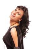 Portrait of smiling beautiful woman Stock Image