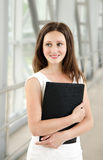 Portrait of smiling beautiful young businesswoman Royalty Free Stock Image