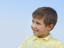 Portrait of smiling boy Royalty Free Stock Photo