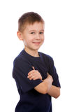 Portrait of the smiling boy Stock Images