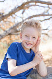 Portrait of smiling boy Royalty Free Stock Image