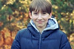 Portrait of a smiling boy Stock Photo