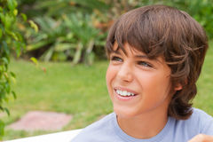 Portrait of  smiling boy Royalty Free Stock Images