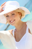 Portrait of smiling bride Royalty Free Stock Photos