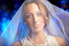 Portrait of fiancee Royalty Free Stock Image