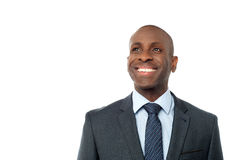 Portrait of smiling business executive Stock Photography