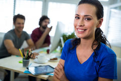 Portrait of smiling business executive Royalty Free Stock Image