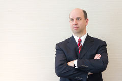 Portrait of a smiling business man Royalty Free Stock Image