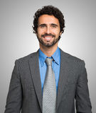 Portrait of a smiling business man Royalty Free Stock Photos