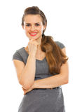 Portrait of smiling business woman Royalty Free Stock Image