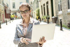 Portrait of a smiling business woman Royalty Free Stock Photo