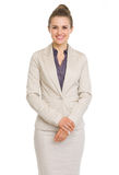 Portrait of smiling business woman Stock Photography