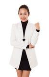 Portrait Of Smiling Business Woman. Stock Photos